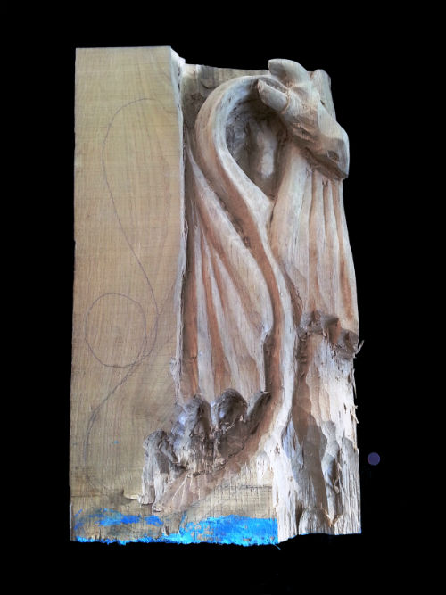 Nachshon was holding on to this when we found him unconscious on the floor of his home. Size: 36cm x 22 cm thick 5cm